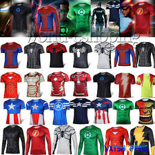 Avenger Marvel Superhero Costumes Bicycle Sports T-Shirts Jogger Jersey Tee Tops