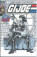 RARE G.I. Joe #200 HERB TRIMPE Sketch Cover VOSBURG Baroness & Destro  100 Exist