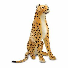 Melissa & Doug Kids Play Tame Cheetah Stuffed Animal Soft Cuddly Baby Toys New