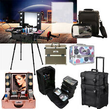 UNHO Pro Rolling Travel Studio / Trolley / Bag Makeup Artist Cosmetic Organizer