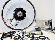 1000W Electric E Bike Conversion Kit With Battery 48v Lithium Front/Rear Wheel R