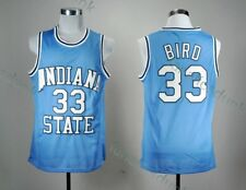 Larry Bird #33 Indiana Pacers Light Blue NBA Basketball Swingman Jersey All Size