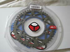 NEW TAG METALS ALUMINUM YAMAHA YZ WR CRF HONDA XR REAR SPROCKET 49T 450-520-49