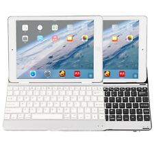 Aluminum Wireless Bluetooth Keyboard Case Cover Stand Holder For iPad BH