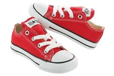 Converse Chuck Taylor All Star Toddlers Red White Canvas New in Box 7J236