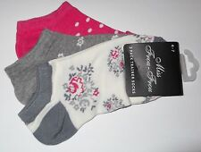 PACK OF 3 PAIRS OF LADIES TRAINER SOCKS - 2 Pack Design Choices - Size 4-7 - NEW