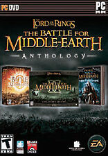 Lord of the Rings: The Battle for Middle-earth Anthology (PC:Win 2007) Win XP