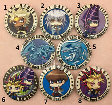 T217 Anime Yu Gi Oh badges Pins Schoolbag Backpack Decorate