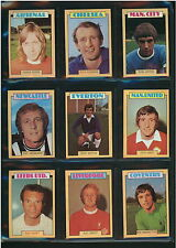 A&BC FOOTBALL CARDS 1973 - PICK CARD NUMBERS 132 TO 150 - VG/EXC CONDITION