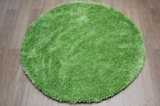 Flair Rugs Starlet Twilight Lime Green Rug 135cm x 135cm - Free Delivery