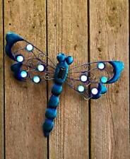 Beautiful Solar Garden Wall Hangings Or Garden Ground Butterfly Frog Dragonfly