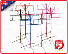Music Sheet Stand Adjustable Collapsible Holder Portable Carry Bag MS1