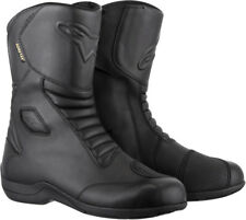 Alpinestars Mens Black Web Gore-Tex Touring Motorcycle Boots
