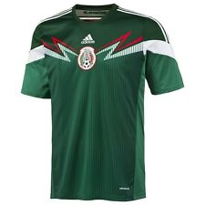 NEW ADIDAS WORLD CUP GREEN HOME MEXICO FEDERATION SOCCER JERSEY sz S SMALL