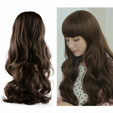 New Fashion Lovely Women Girl Wig Long Wavy Curly Hair Cosplay Party Wigs  GF