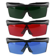 Protection Goggles Safety Glasses Green Blue Red Eye Spectacle Protective New GF