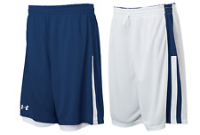 Under Armour mens Undeniable reversible Basketball Shorts  Navy / White xl