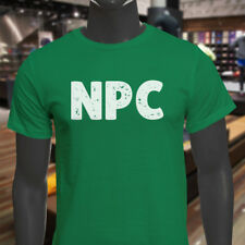 NPC GAMER VIDEO GAME HUMOR GEEK NERD FUNNY HOBBY Mens Green T-Shirt