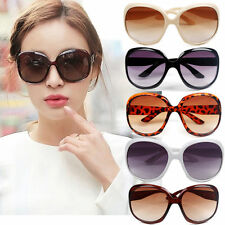 New Women's Retro Vintage Shades Fashion Oversized Designer Sunglasses glass FOW
