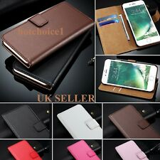 Leather Wallet Flip Case Cover for New Apple iPhone 7 6 6s 7 Plus