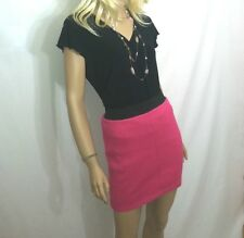 NWT Mudd Pink Mini Skirt Juniors Stretch Knit  Sz M NEW
