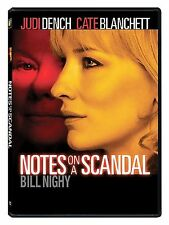 Notes on a Scandal (DVD, 2009, Spa Cash)