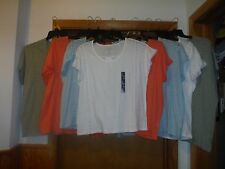 Short Sleeve Scoop Neck Tee Blouses Gap All Regular Size Some Color NWT