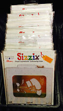 Pick your choice of ~ SIZZIX EMBOSSING FOLDERS ~ Lots Brass Stencil Cuttlebug