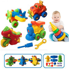 Kids Children Baby Boy Disassembly Assembly Classic Car Educational Play Toy New
