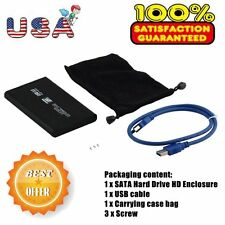 New USB 3.0 2.5In SATA External Hard Drive Mobile Disk HD Enclosure/Case Box DP