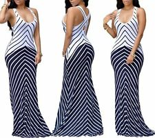 Off Shoulder Sexy Women Summer Long Maxi BOHO Evening Party Dress Beach Sundress