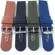 4 Colors Military Army INFANTRY Nylon Watch Band 18~24 MM Strap Fit Seiko all