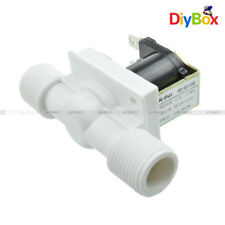"""1/2"""" N/C Magnetic Electric Solenoid Valve Water Air Inlet Flow Switch 12/24/220V"""