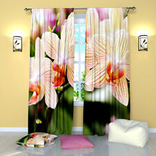 """Flower Tenderness Floral Window Curtains Panel (Set of 2), Polyester, 84"""""""