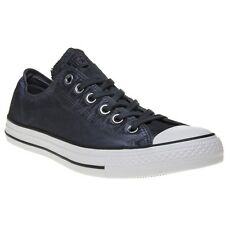 New Mens Converse Blue All Star Ox Textile Trainers Canvas Lace Up