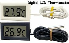 NEW LCD Digital Thermometer for Fridge/Freezer/Aquarium/FISH TANK Temperature XP