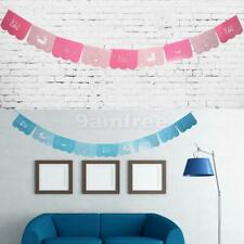It's a BOY or Girl Paper Bunting Banner Baby Shower Hanging Sign Photo Prop