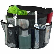 Dorm Travel Caddy Quick Dry Hanging Cosmetics Carry Bath Bag Mesh Tote Shower