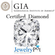 1.85CT D SI1 Cushion GIA Certified Natural Brilliant Loose Diamond (1166332816)