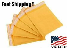4 x 8 MAILERS KRAFT BAGS SELF SEAL POLY MAILERS BUBBLE PADDED ENVELOPES