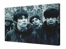 The Stone Roses Band Pop Art  ~ Canvas Wall Art Picture Print Framed + Sizes
