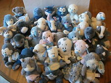 "BRAND NEW WITH TAGS 4"" MY BLUE NOSE FRIENDS SOFT TOYS - VARIOUS CHARACTERS."