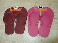 Girls Sun Fusion Foam Bottom Flip Flops CHOICE Color & Size, New w/o Tags