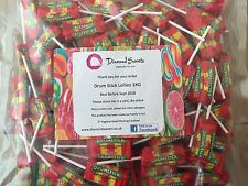 Retro Sweets Swizzels DrumStick Lollies 1kg Bag / Sack Drum Sticks Party Bags