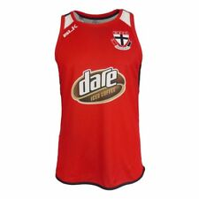 BLK Sport St Kilda Training Singlet Red 2017