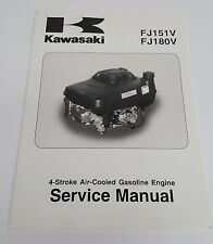 Kawasaki 4-stroke Air-Cooled Gasoline Engine Service Manual