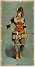 Photo Print Vintage Poster: Theatre Flyer 1800s Blank Unknown 24