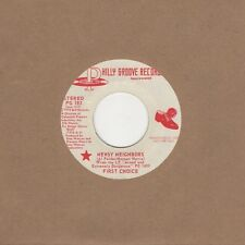 First Choice - Newsy Neighbors - Philly Groove Demo PG 183 - Northern Soul Cross
