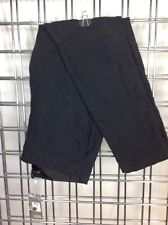 EILEEN FISHER PETITE Black TEXTURED Slim Side Zip Ankle Pants Jeans NWT PS