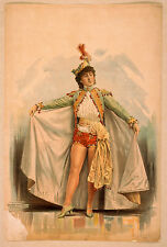 Photo Print Vintage Poster: Theatre Flyer 1800s Blank Unknown 16
